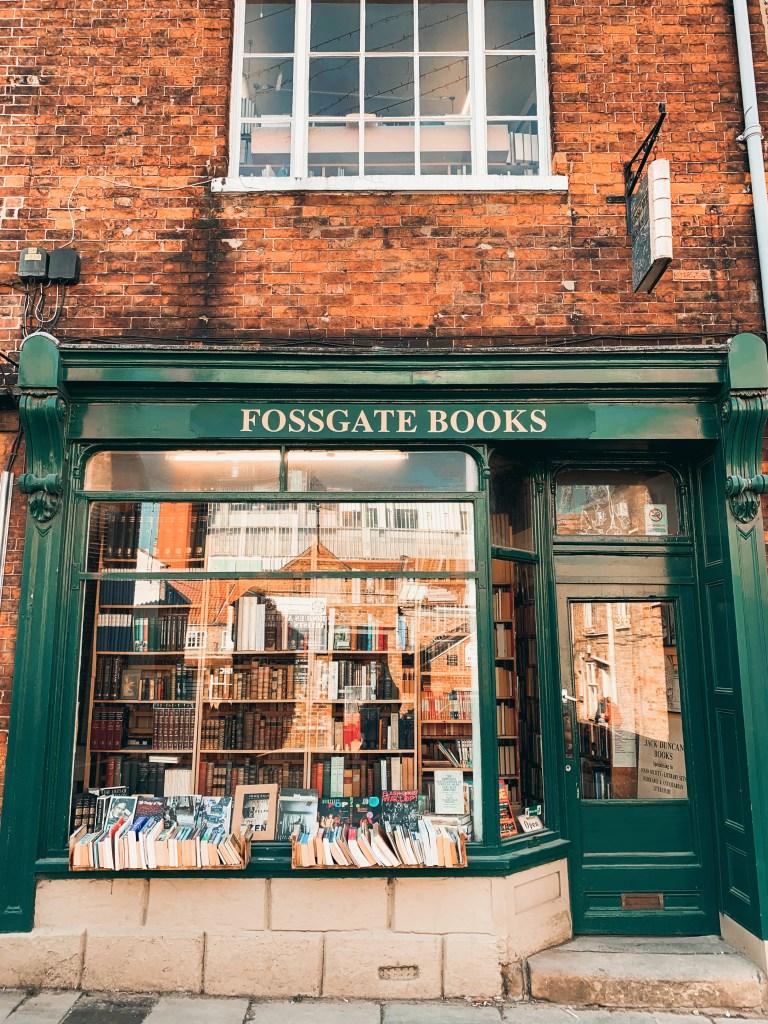 jaye rockett in defence of books fossgate york
