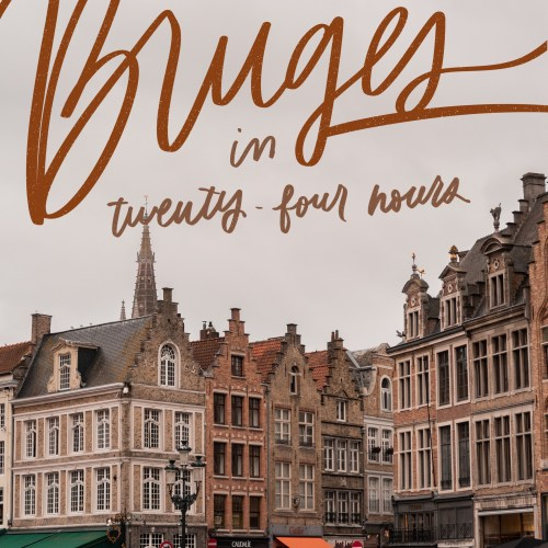 24 hours in Bruges jaye rockett