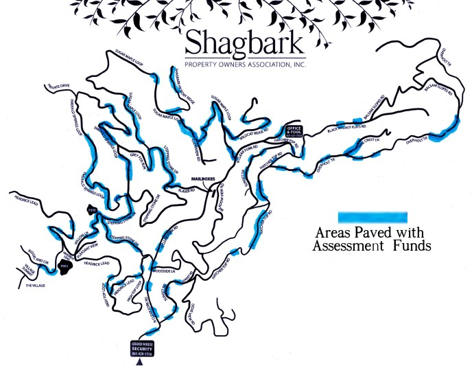 Shagbark Roads Paved With Assessment Funds October 2017