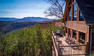 Sweet View Springs features an incredible mountain view, heated indoor pool, theater room, and quality luxury upgrades. Located in Wears Valley it is a private location near Pigeon Forge