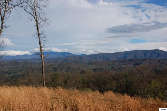 Pristine mountain views looking at Mt. LeConte and Cove Mountain from Phase I of The Summit on Bluff Mountain - Laurel Cove Trail