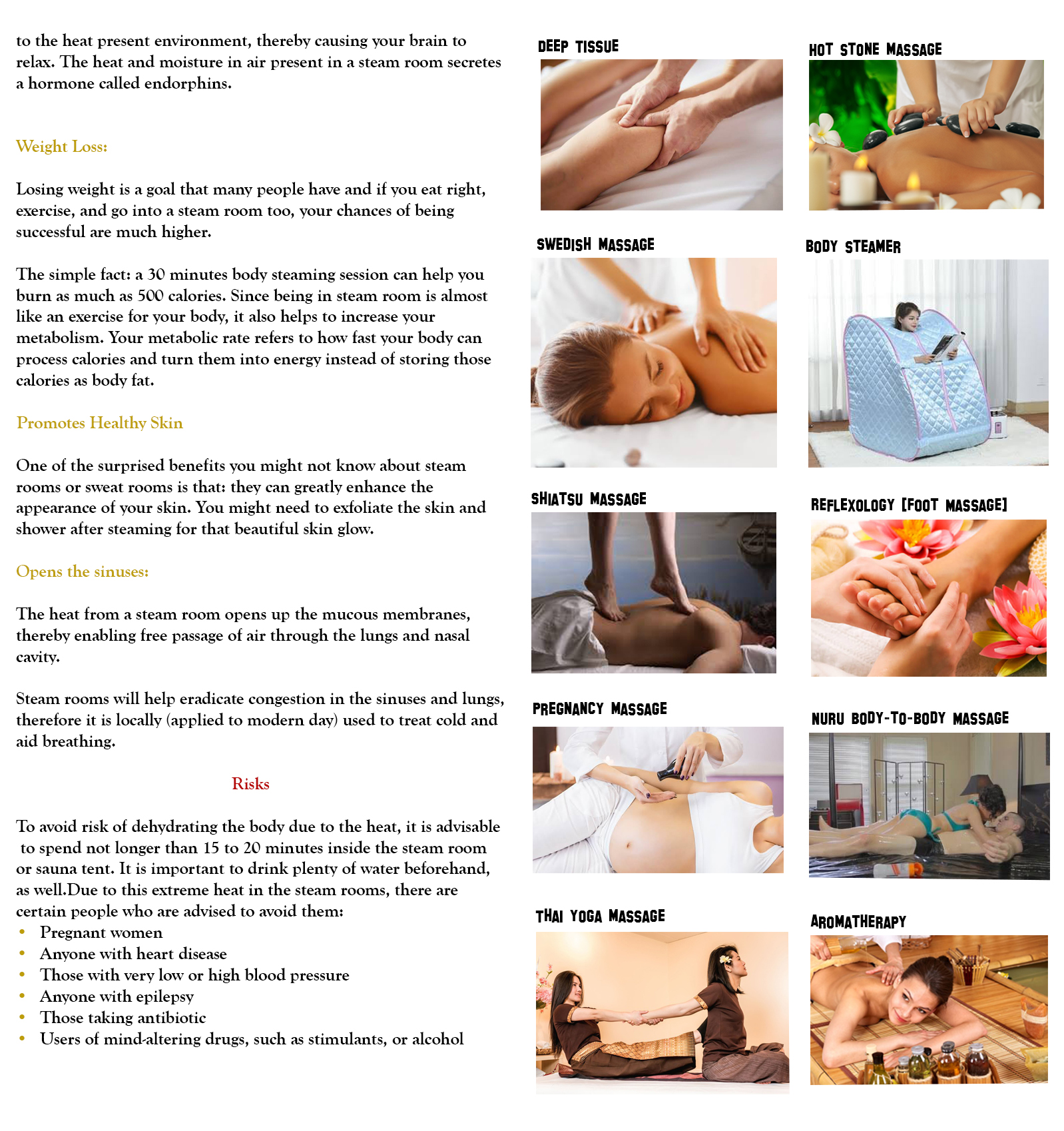 quality massage service in Lagos