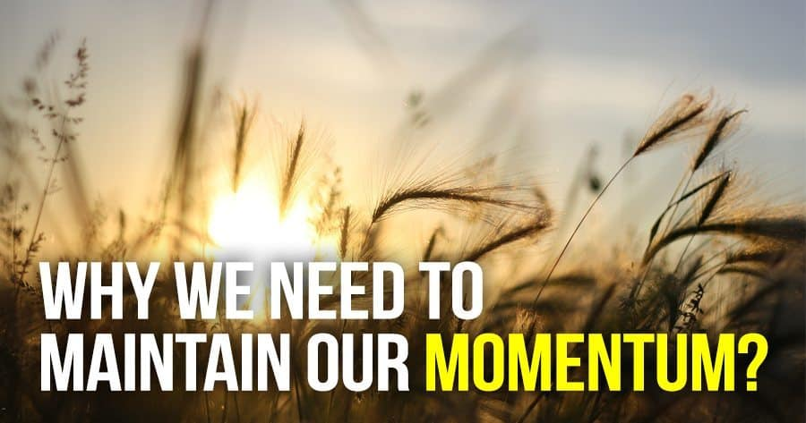 why-we-need-to-maintain-our-momentum