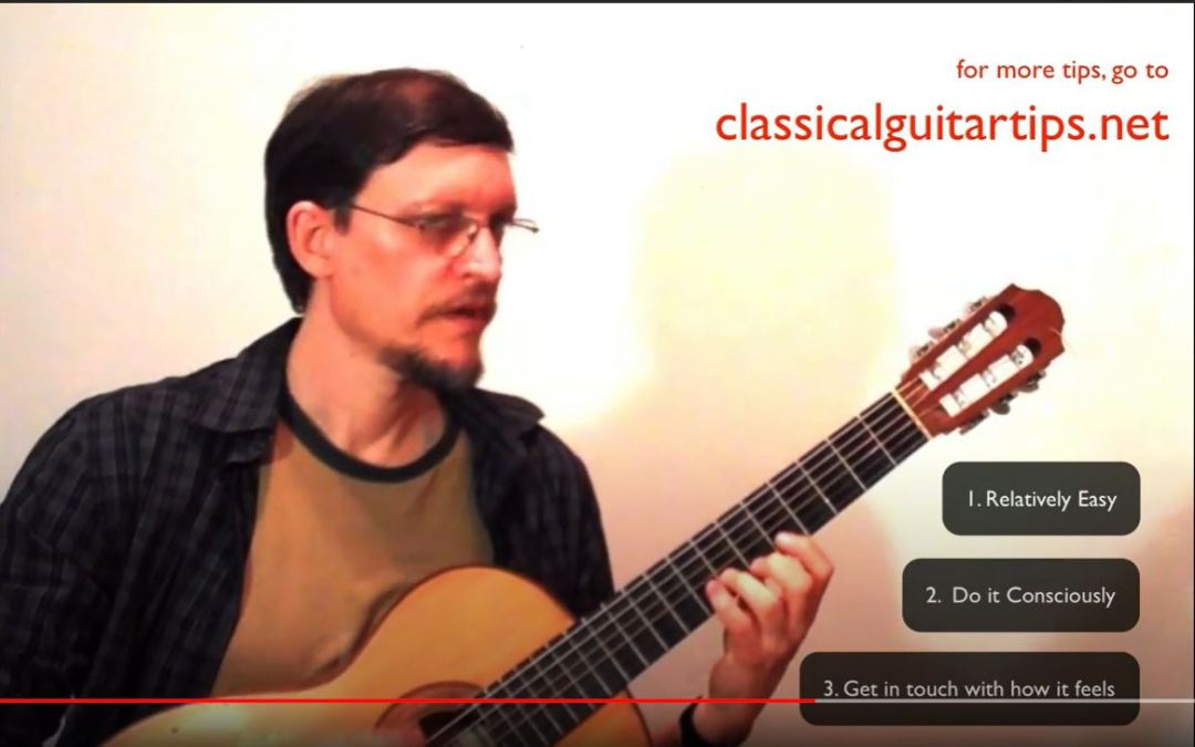 Classical Guitar Tips Video 10: And Last, but not Usually First….Warming Up