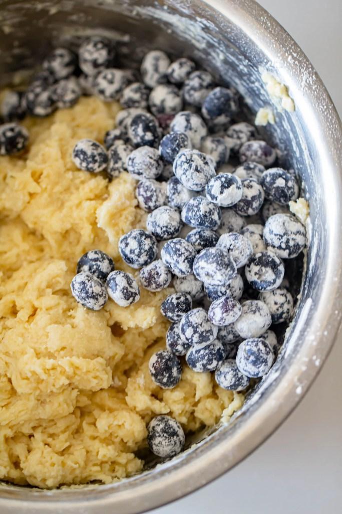 Jumbo Blueberry Streusel Muffins