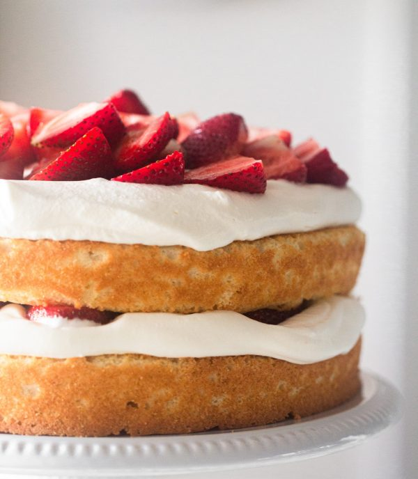 Strawberry shortcake Cake