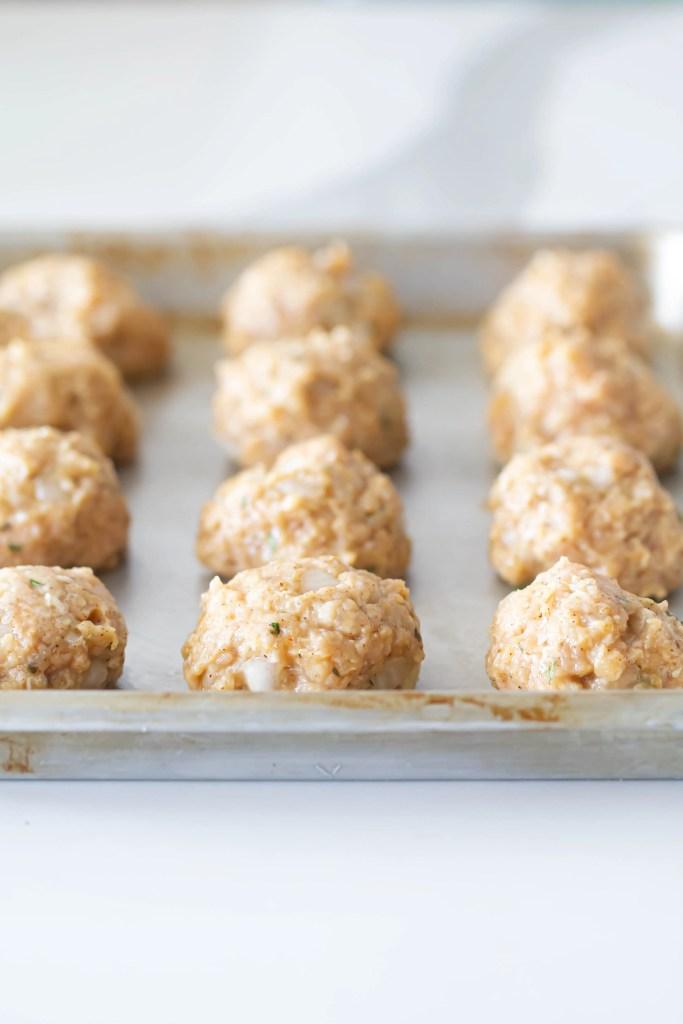 Air Fryer Teriyaki Chicken Meatballs