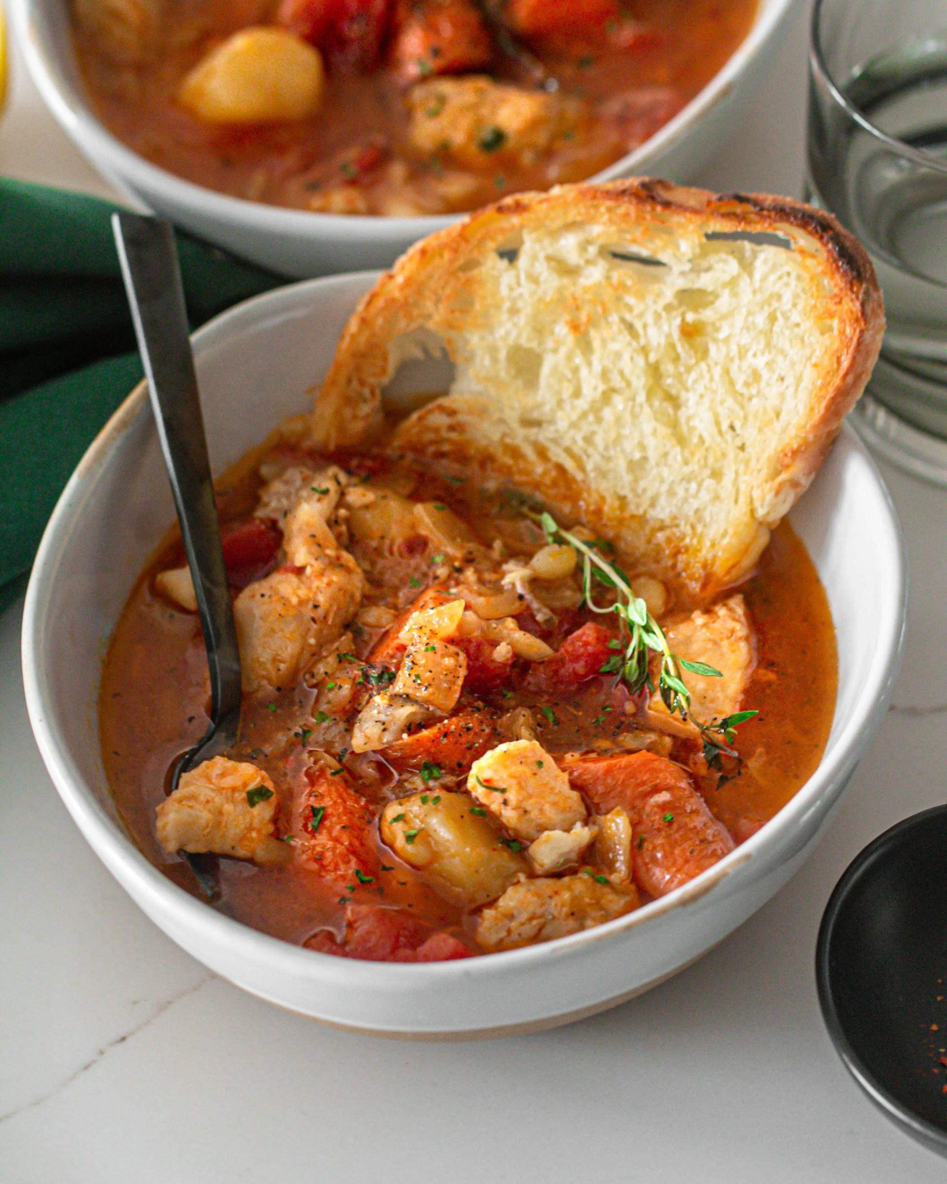 Easy Fish Stew Recipe