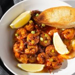 Spicy Brown Butter Shrimp