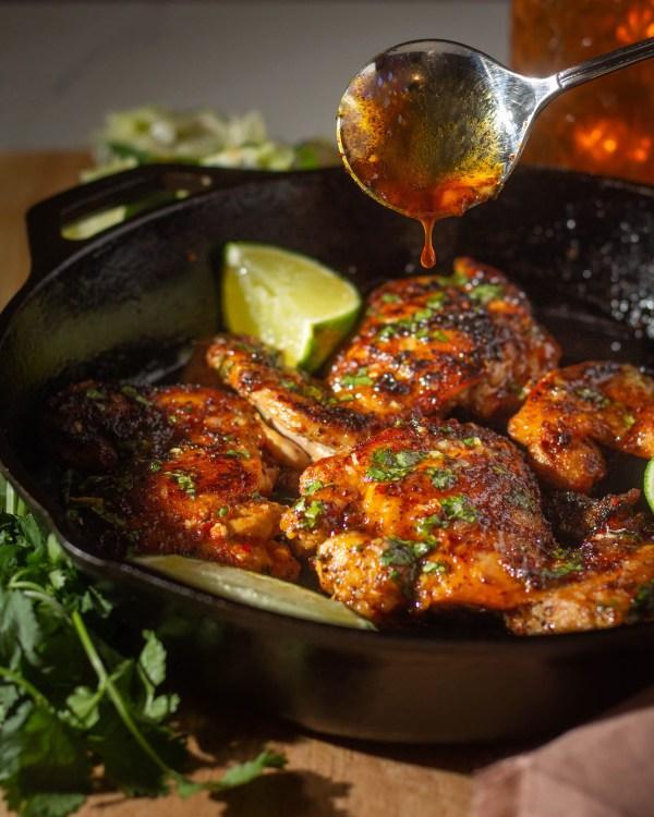 Honey Lime Chili Chicken