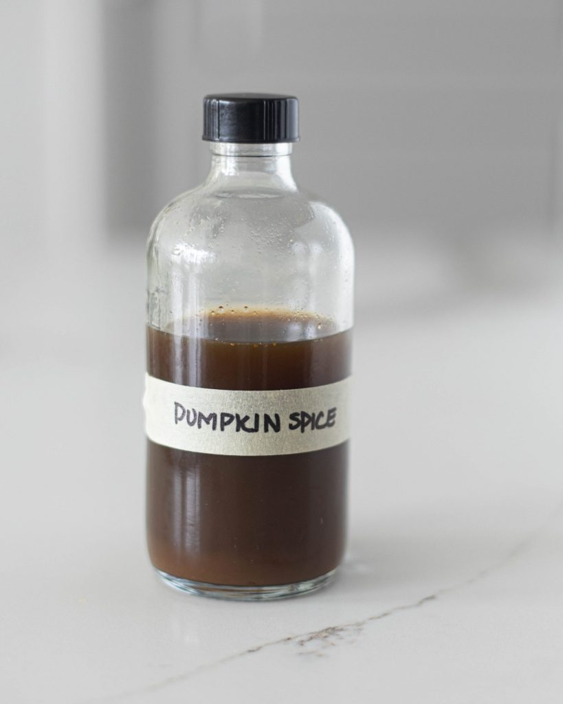 Pumpkin Spice Simple Syrup