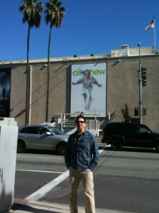 Outside WarnerBrothers Studios