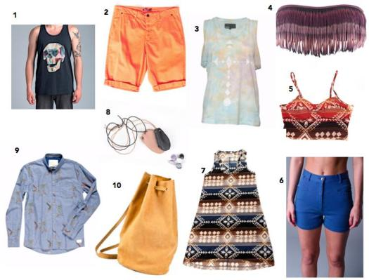 Festival Must Haves 2013