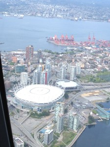 Over Vancouver