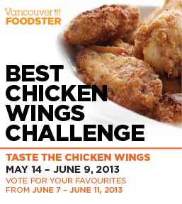 Vancouver Foodster Chicken Wing Challenge