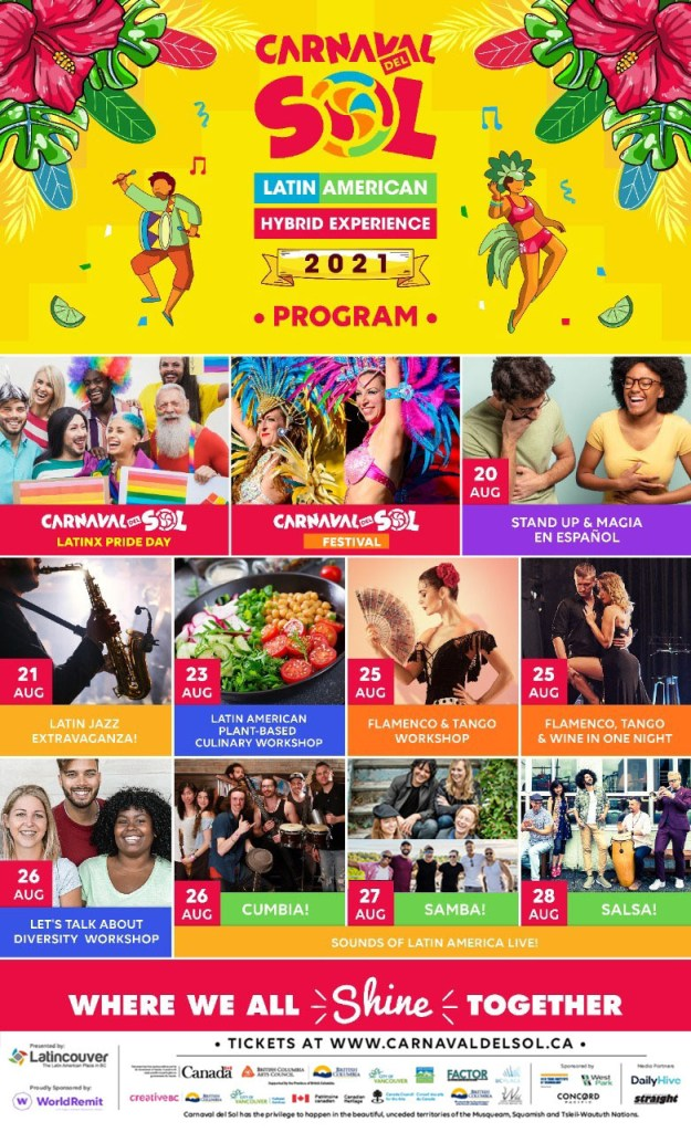 Carnaval del Sol 2021- Program
