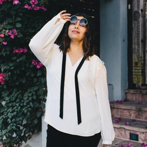 White House Black Market plus size leggings, blouse