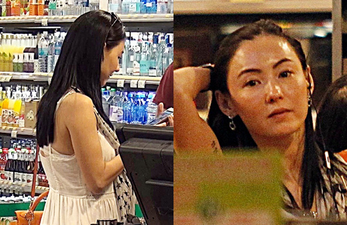 """Cecilia Cheung Shocks with """"Pregnant Look"""""""
