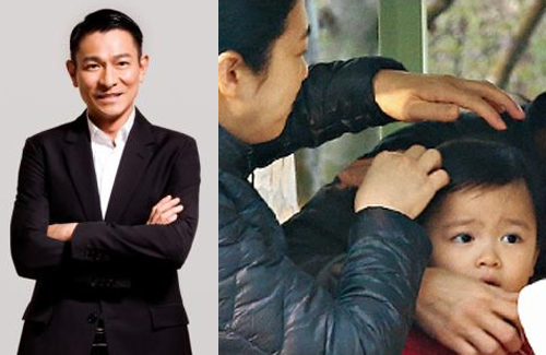 Andy Lau Introduces 3-Year-Old Daughter to Fans