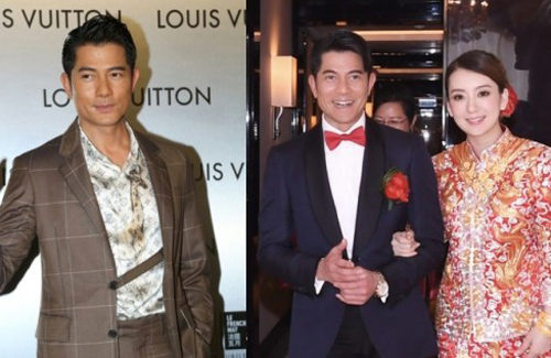Aaron Kwok Doesn't Deny Wife's Pregnancy