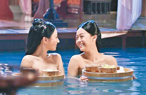 """Annie Liu, Jacqueline Wong Film Bath Scene in """"Deep in the Realm of Conscience"""""""