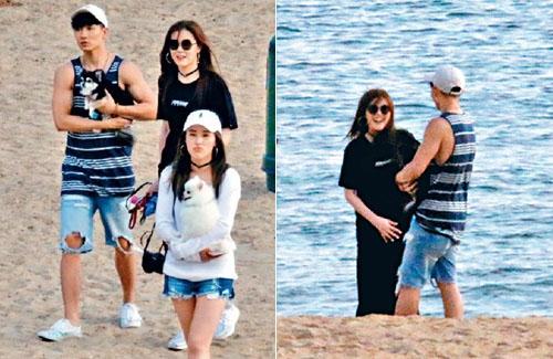 Moon Lau and Adrian Chau Deny Dating