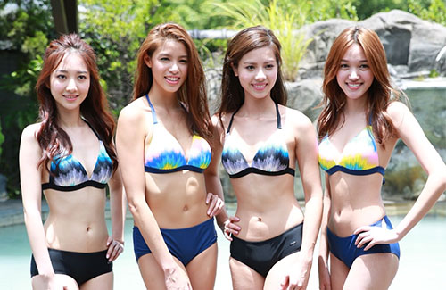 2017 Miss Hong Kong Contestants Show Off Their Stats