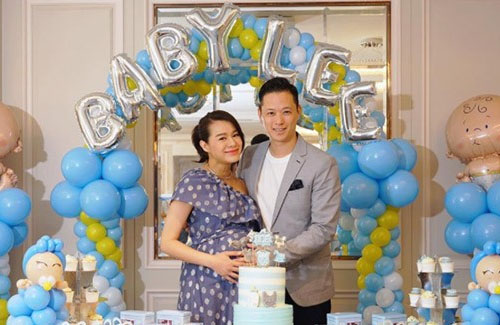 Myolie Wu Announces Gender of Baby!