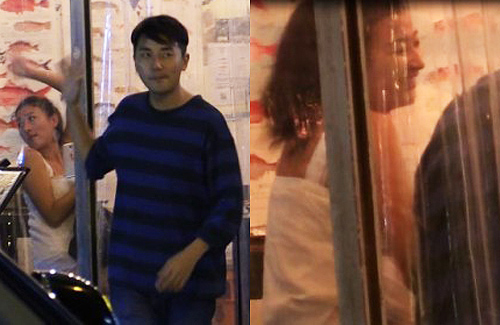 Tony Hung Spotted on Date with New Girlfriend