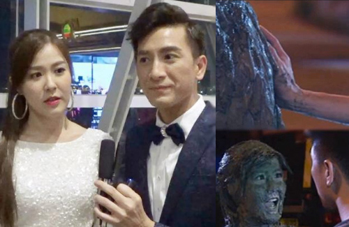"Kenneth Ma and Moon Lau Teased about Chest-Touching Scene in ""The Exorcist's Meter"""