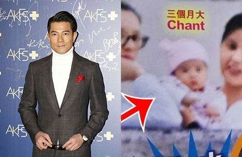 Aaron Kwok Talks About His 3 Month Old Daughter