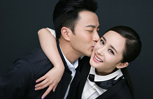 Yang Mi Spent Chinese New Year in Hong Kong with Hawick Lau