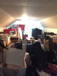 Attic Storage Room