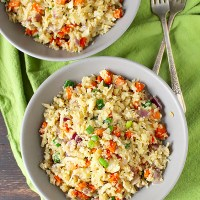Paleo Cauliflower Fried Rice