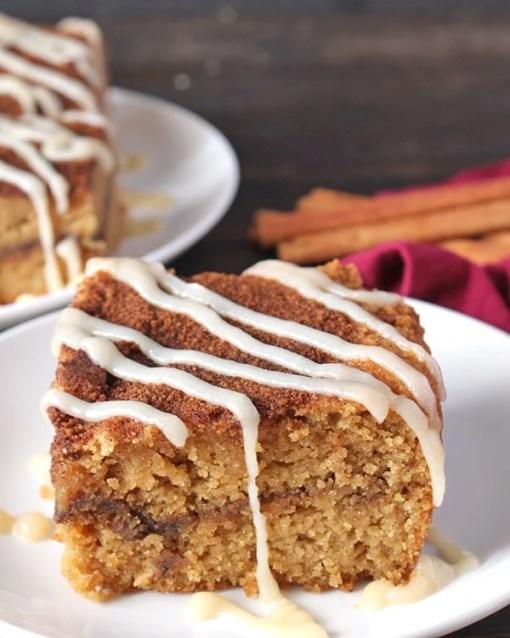 Paleo Cinnamon Roll Coffee Cake