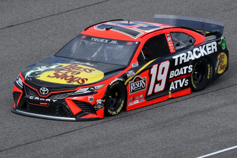 HOMESTEAD, FLORIDA - FEBRUARY 28: Martin Truex Jr., driver of the #19 Bass Pro Toyota, drives during the NASCAR Cup Series Dixie Vodka 400 at Homestead-Miami Speedway on February 28, 2021 in Homestead, Florida. (Photo by Sean Gardner/Getty Images) | Getty Images