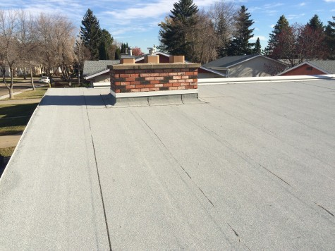 2 Ply Roofing system in St. Albert