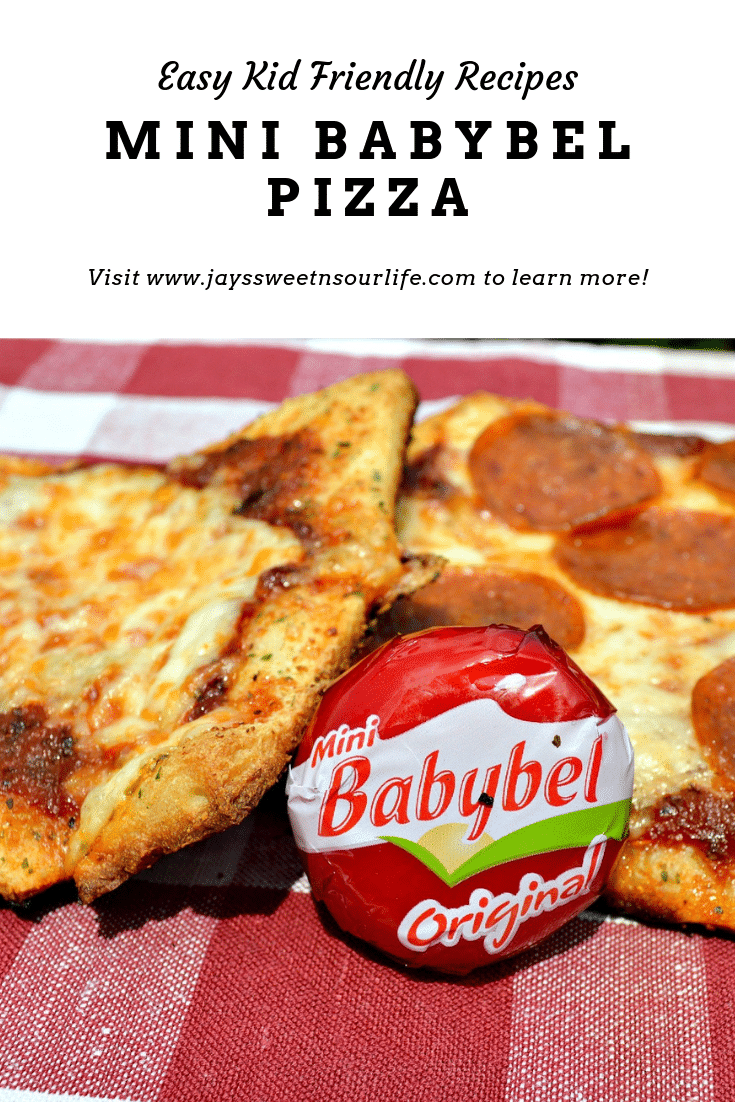 Kid Friendly Mini BabyBel Pizzas. Bake up some kid-friendly mini babybel pizzas. They are perfect for quick weeknight dinners or easy to make weekend meals.