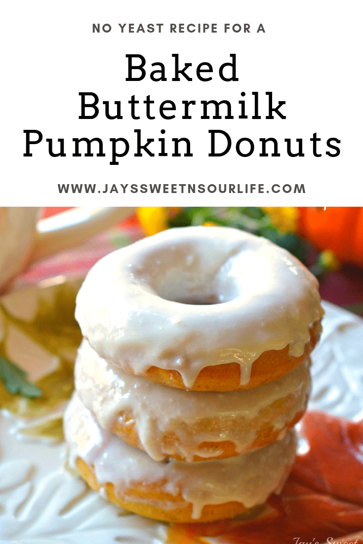 Baked Buttermilk Pumpkin Donut. Calling all pumpkin lovers! Try my moist Baked Buttermilk Pumpkin Donut Recipe. Frosted with Cream cheese and baked to perfection. A No Yeast Recipe.