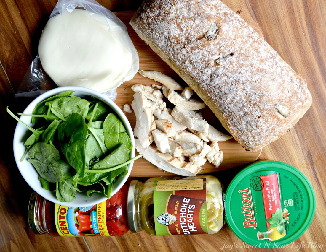 Chicken Artichoke Ingredients. This Tuscan inspired sandwich is a wonderful blend of flavors that's perfect for a quick lunch, Boasting a perfect balance of sweet and savory.
