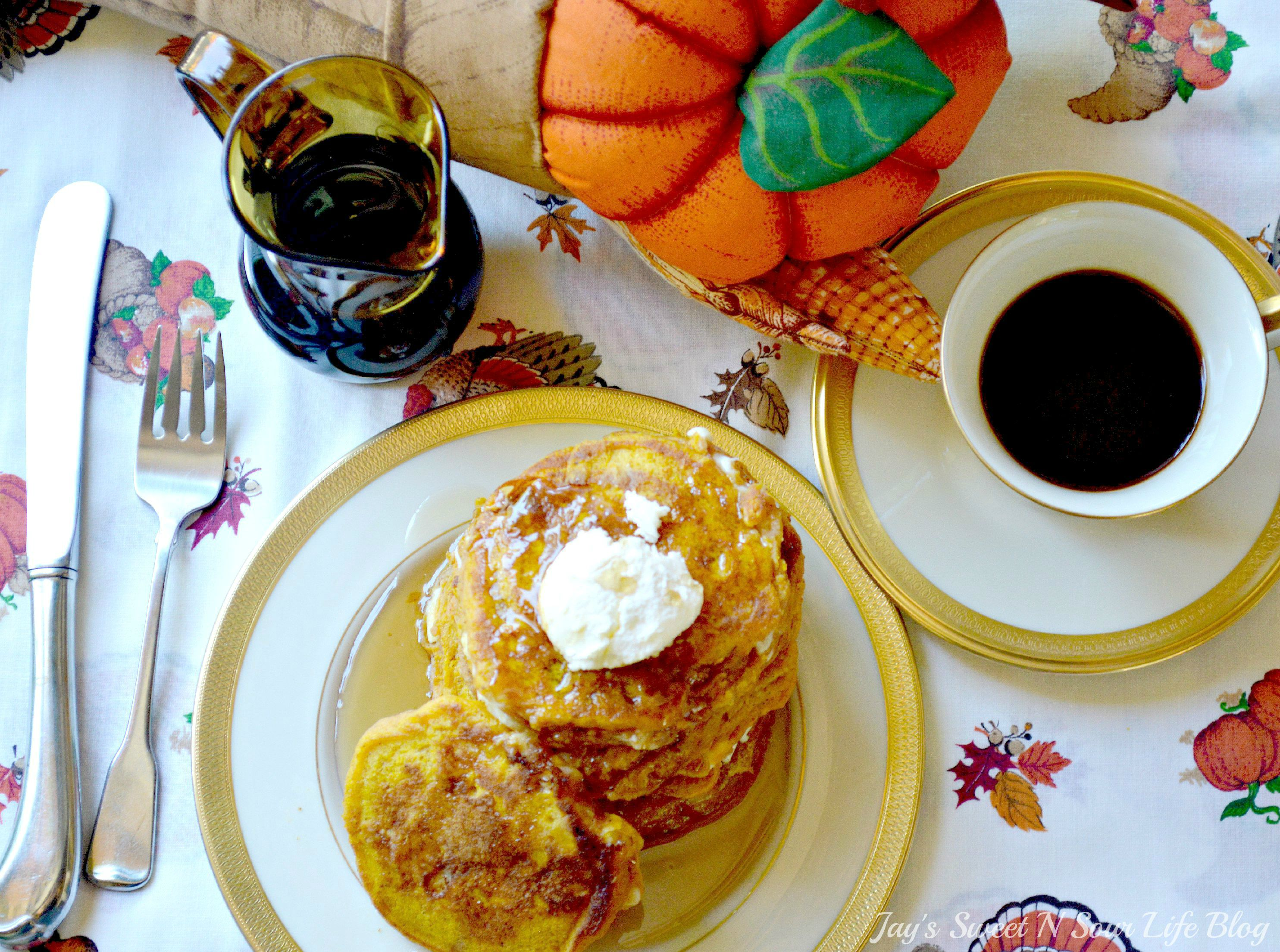 . Chocolate Chip Pumpkin Buttermlik PancakesNothing says fall like my Pumpkin Chocolate Chip Buttermilk Pancakes. These from-scratch pumpkin pancakes are made with real pumpkins and buttermilk making them super moist and fluffy, they are perfect for fall mornings.