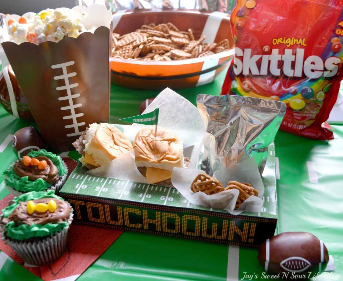 Game Day With Skittles Inspired Snacks