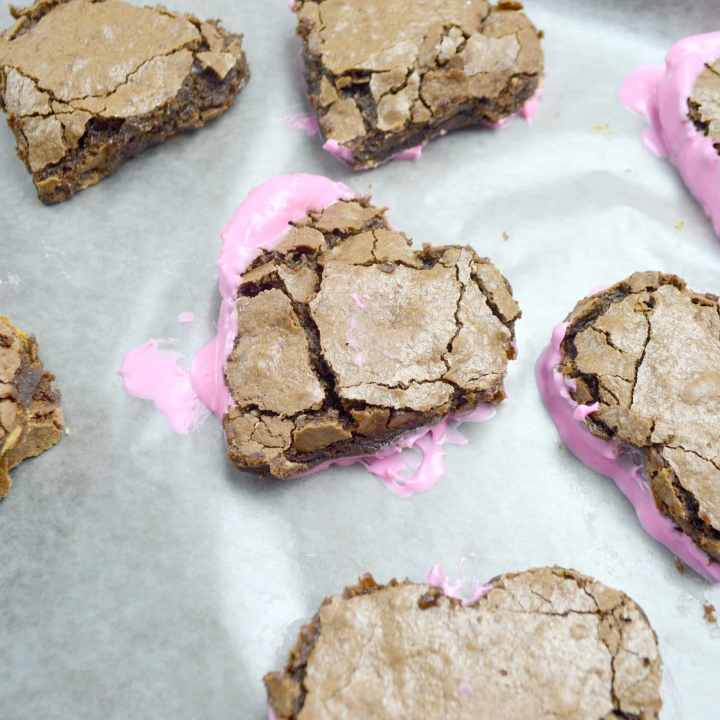 Valentines Day Fudgy Brownies