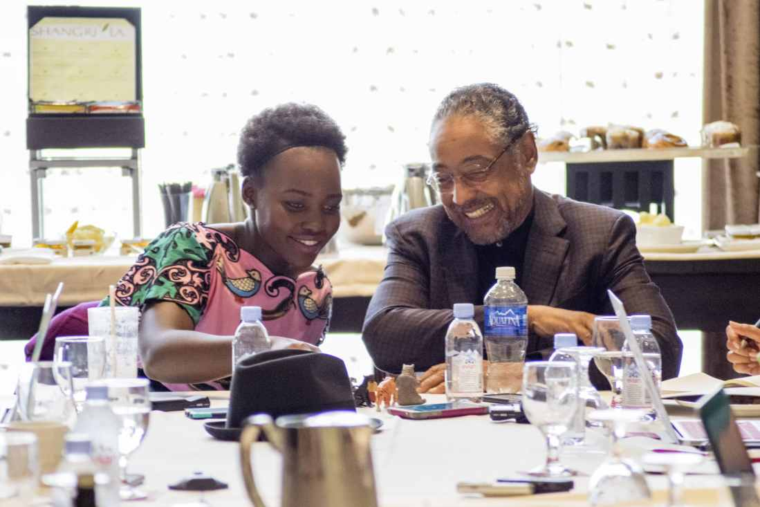 Exclusive Interview with Lupita Nyong'o & Giancarlo Esposito – Disney's The Jungle Book