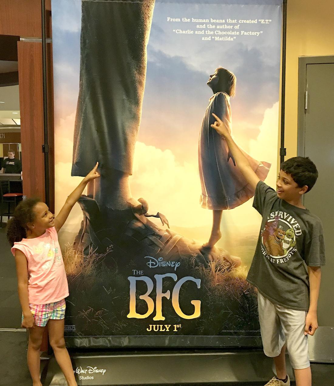The BFG Theater 1