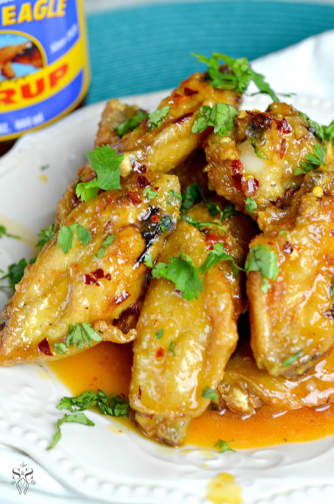 Spicy Buttery Chicken Wings 1