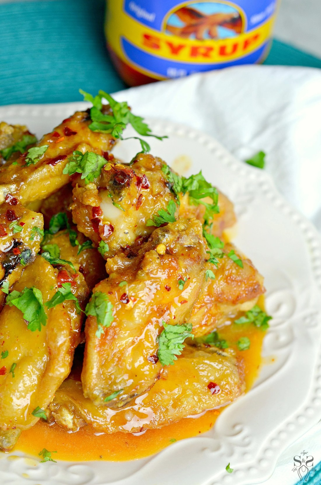 Spicy Buttery Chicken Wings 2.1