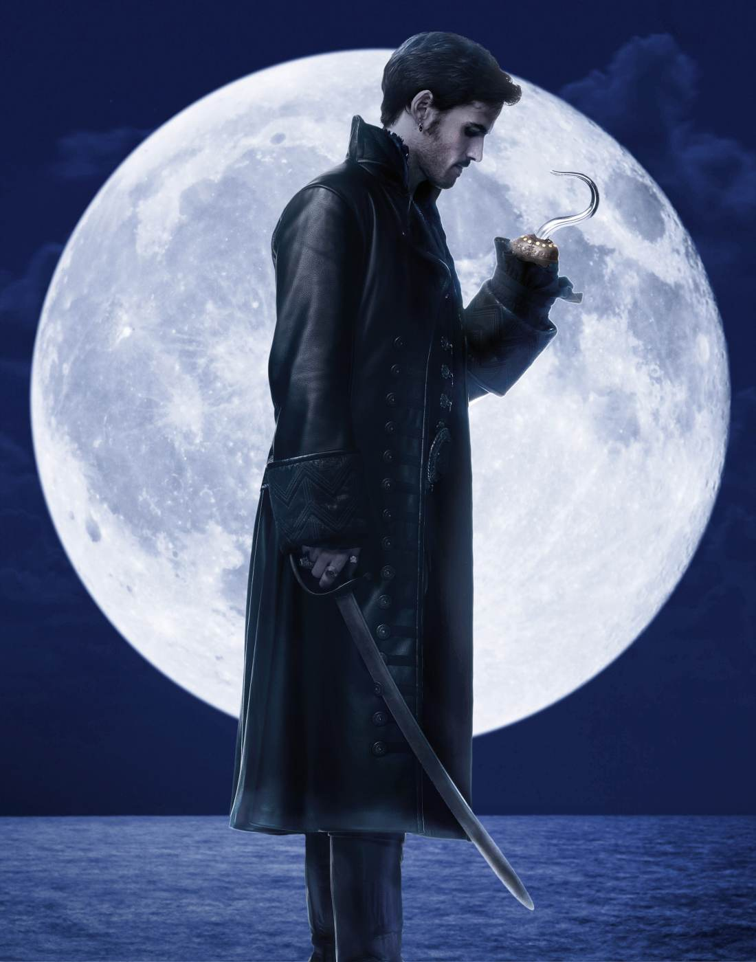 """ONCE UPON A TIME - ABC's """"Once Upon a Time"""" stars Colin O'Donoghue as Hook. (ABC/Bob D'Amico)"""