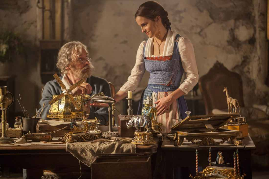 In Disney's BEAUTY AND THE BEAST, a live-action adaptation of the studio's animated classic, Emma Watson stars as Belle and Kevin Kline is Maurice, Belle's father. The story and characters audiences know and love are brought to life in this stunning cinematic event...a celebration of one of the most beloved tales ever told.