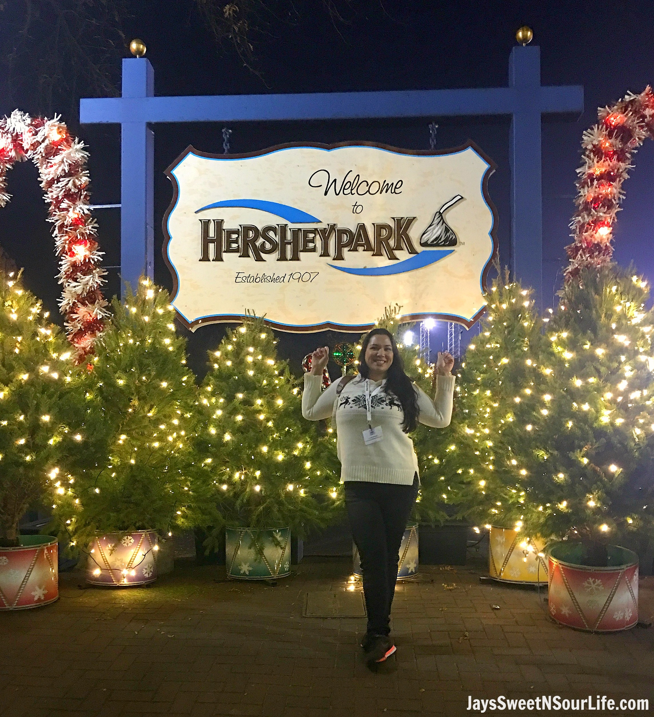 Hershey Park Christmas.2017 Christmas Time Events At Hershey Jays Sweet N Sour Life